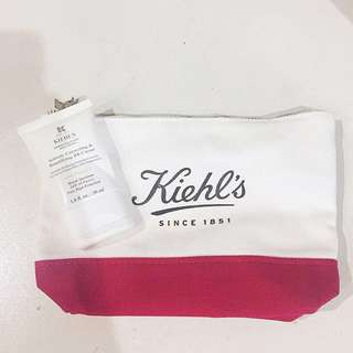Kiehl's B.B. Cream and Makeup Pouch