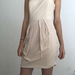 Dusky pink Wish dress