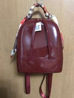 Brand New Red Jelly Candy Backpack