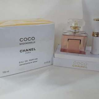Chanel Coco with automizer set
