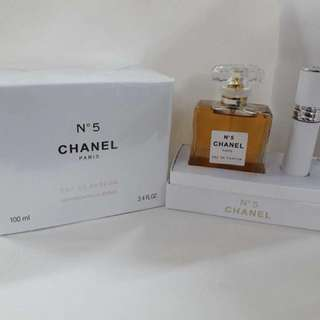 Chanel N5 with automizer set