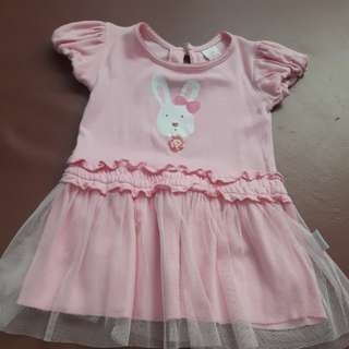 Pink rabbit dress