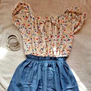 Hearts mini dress