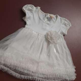 Tutu white dress