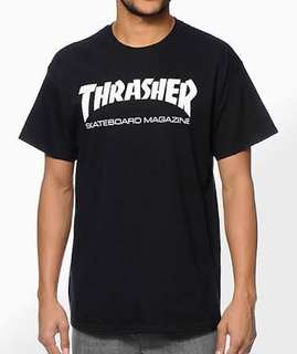 Black Thrasher Tee