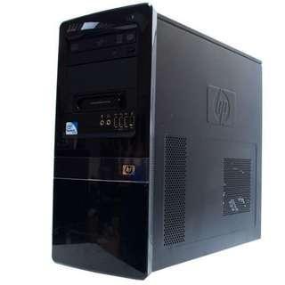 HP Compaq Desktop Quad Core PC