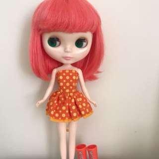 Takara Blythe Doll Simply Bubble Boom