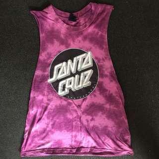 Santa Cruz Tie Dye Singlet