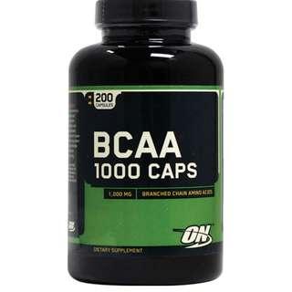 OPT026 2樽5%off 包順豐 Optimum BCAA Muscle Body支鏈氨基酸 健身增肌 配奶粉用 200粒