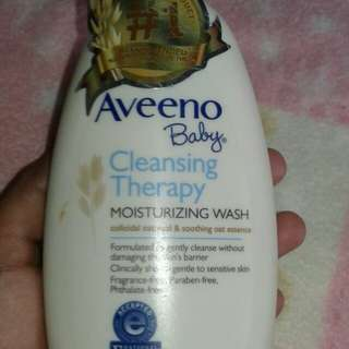 Aveeno Baby Cleansing Theraph Wash