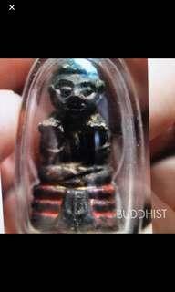 Lp Yeam Kuman Tong Thai Buddhist Amulet  Wat Samngam