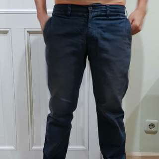 Celana Chino Wood Navy Blue