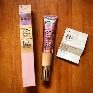 REPRICED! It Cosmetics CC Cream + Illumination 75ml