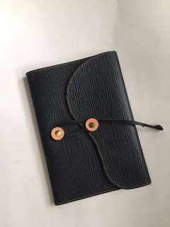 ABS-CBN leather journal- refillable