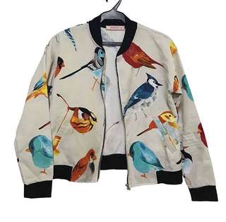 GTW printed bomber jacket