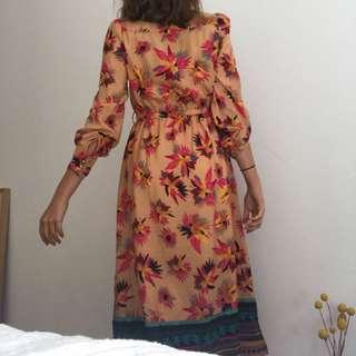 Z & I- Long flower dress