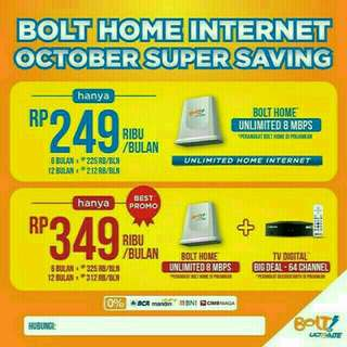 Bolt home router wifi unlimited kouta