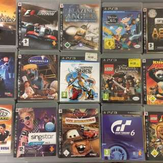 PS3 Games, mainly German versions