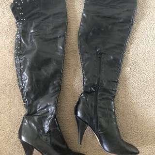 Betts Thigh High Boots