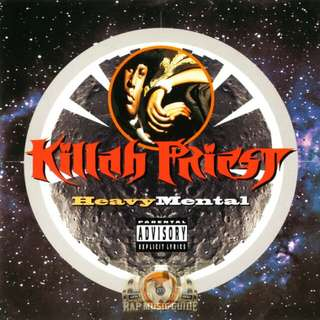Killah priest heavy mental rare CD original USA pressing sealed,  WU Tang, Rap