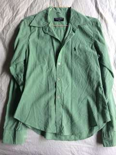 Ralph Lauren button up size M women's