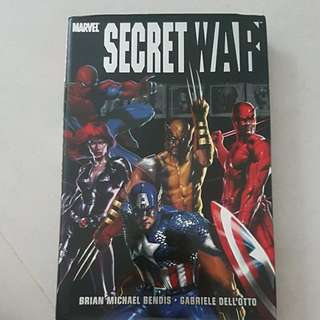 Marvel - Secret War hardcover