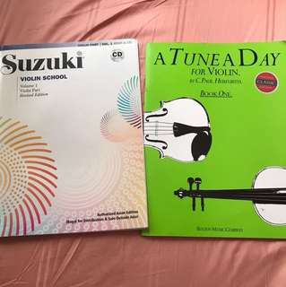 Suzuki (CD) + A tune a day