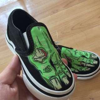 Vans Slip-On Glow in the Dark Zombie