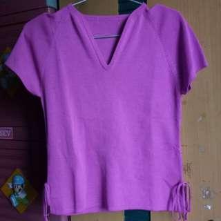 Baju Rajut Pink