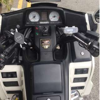 Honda Goldwing Fire Sale
