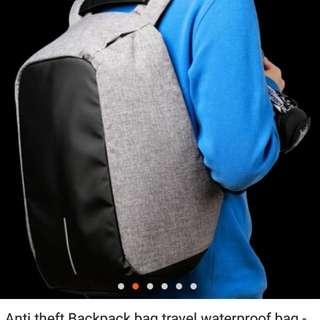Anti theft backpack bag travel waterproof bag