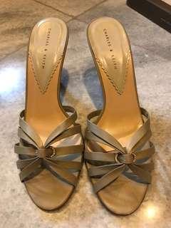 #charles&keith heels - 7cm heels - very good condition