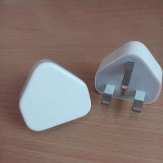 iPhone charger (head)