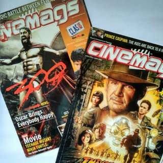 Majalah CINEMAGS edisi Adventure