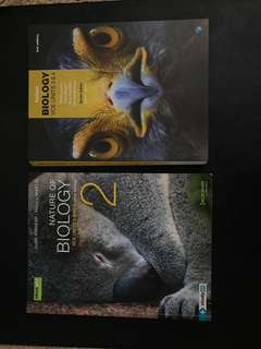 Unit 3&4 Biology Textbooks
