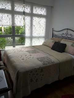 Master bedroom for rent at nice and leafy estate in North East