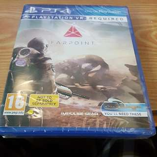 Farpoint ps4 psvr brand new sealed