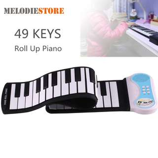 Roll Up Piano Silicon Flexible