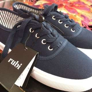 Rubi Cotton On navy blue shoes
