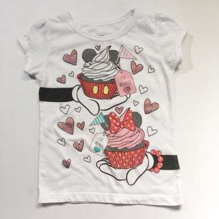 Disney Minnie Mouse Print Top