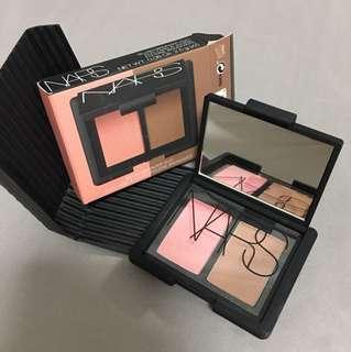 NARS BLUSH / BRONZER DUO Makeup palette