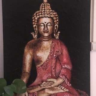 Buddha Tibetan sand painting