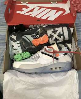 OFF WHITE AIR MAX