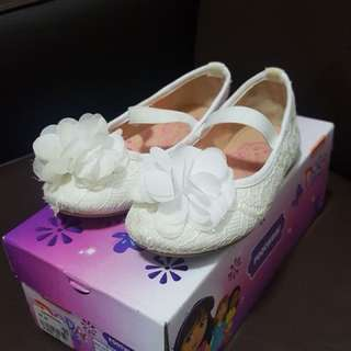 White Doll Shoes Size 7