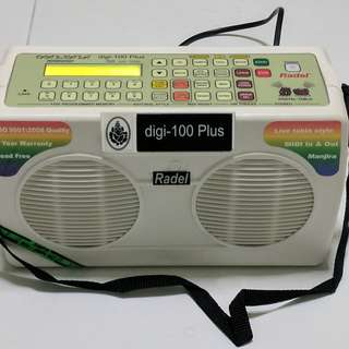 Radel Taalmala Digi-108 Digital Tabla