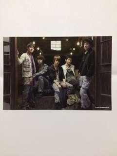 [TVXQ] 3 Avex Postcards + Backstage Photo