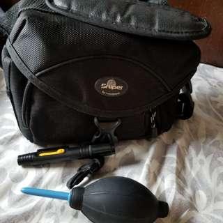 相機袋連清潔配件