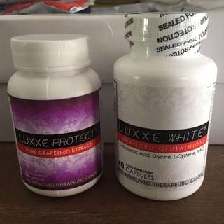 Luxxe Soap, Luxxe White, Luxxe Protect, Luxxe Renew (All Luxxe Product)