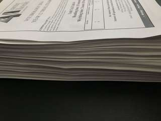 Massive stack of practice VCE Unit 3&4 Biology practice exams