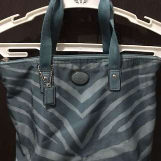 Coach zebra edition handbag  Used but not abused.  Signs of flaws.  Will give discount for sure buyers.   Txt me as I'm not always online.  RFS: too many bags
